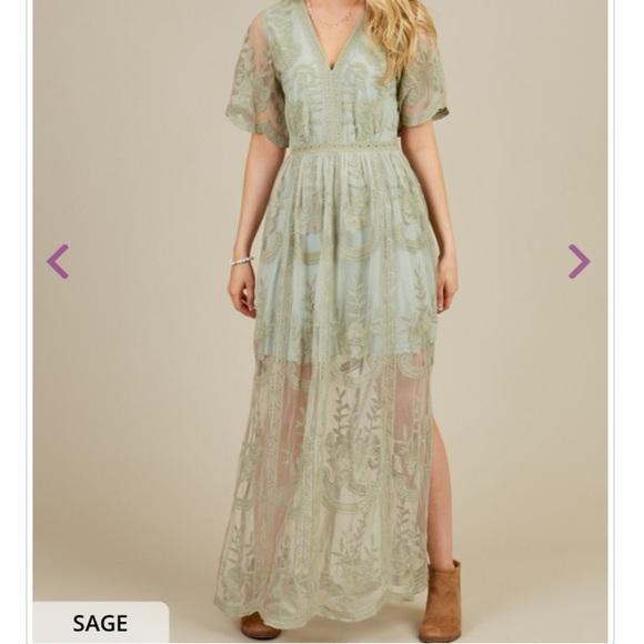 a33ed799a08 Altar d State Dresses   Skirts - Sage color